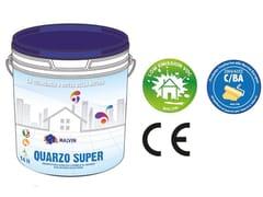 malvin, QUARZO SUPER Idropittura acrilica lavabile a base di farine di quarzo