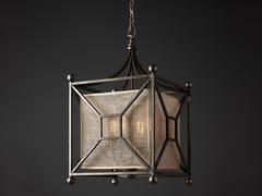 Lampada a sospensione a luce diretta e indiretta in ferro in stile modernoQUATTRO - OFFICINACIANI DI CATERINA CIANI & CO.