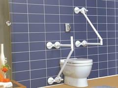 Maniglione bagno in plastica a ventosa per wcQUATTROPOWER SUPPORT - ROTH