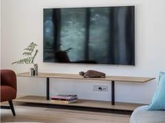 Mobile TV in fibra di carbono impiallacciata in legnoQUEBEC CITY - EPSILON COMPOSITE