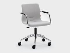 Sedia ufficio ad altezza regolabile in tessutoQUEEN FABRIC | Sedia ufficio - VIGANÒ & C.
