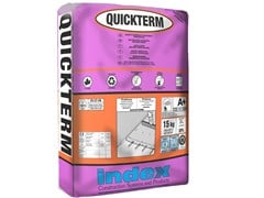 INDEX, QUICKTERM Massetto pronto alleggerito termoisolante