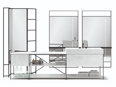 Mobile lavabo componibileR.I.G. MODULES - BATHROOM - MA/U STUDIO