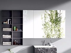 Rexa Design, R1 | Specchio con contenitore  Specchio con contenitore