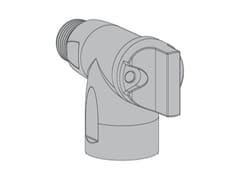 Valvola con connessione rapida e comando per laboratorioR2 Valvola 90° per laboratorio - TECO