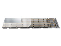 Pannello radiante per riscaldamento a pavimento a seccoRADIAL ALU G - ISOLCONFORT