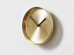 Orologio in ottone da pareteRADIAL - DESIGNBYTHEM