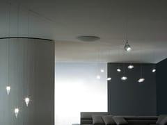 Lampada a sospensione a LED a luce direttaRADIALE - ALBUM ITALIA