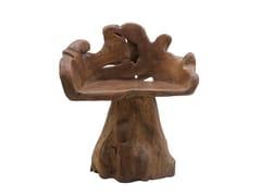 Sedia da giardino in teakRADICE | Sedia in teak - IL GIARDINO DI LEGNO