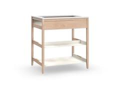Modulo cucina freestanding in legno masselloRADIX | Mobile per lavandino in massello - COQUO