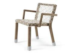 Sedia in corda con braccioliRAFAEL | Sedia con braccioli - ETHIMO