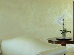 Pittura decorativa traspirante ad effetto spatolatoRAFFAELLO MADREPERLATO - OIKOS S.R.L. A SOCIO UNICO