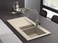 Lavello a una vasca e mezzo con gocciolatoioRAK-DREAM - RAK CERAMICS