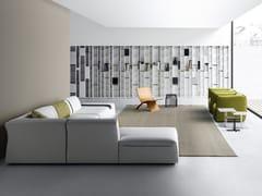 Libreria modulare in fibra di legnoRANDOM - MDF ITALIA