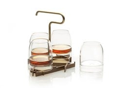 Set vassoio e bicchieriRARE | Vassoio - F F E R R O N E