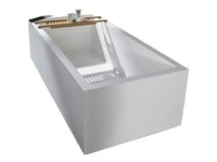 Vasca da bagno centro stanza rettangolare in Krion®RAS | Vasca da bagno - KRION PORCELANOSA GRUPO