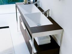 Lavabo da incasso sottopiano rettangolare in ExmarRASO | Lavabo - AGAPE