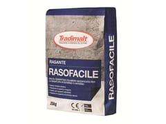TRADIMALT, RASOFACILE BIANCO Rasante per intonaco