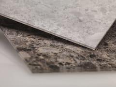 REHAU, RAUVISIO CRYSTAL DECOR Rivestimento per mobili in vetro effetto marmo