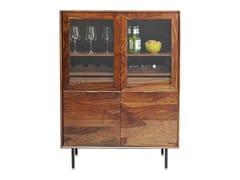 Mobile bar in legno e vetroRAVELLO | Mobile bar - KARE DESIGN