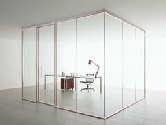 Parete mobile in vetro per ufficioRAY - CITTERIO