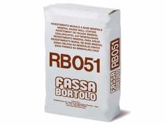 Intonaco per rasature a base mineraleRB 051 - FASSA