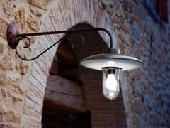 Lampada da parete per esterno a luce diretta e indiretta in metalloRE LEAR | Lampada da parete per esterno in metallo - ALDO BERNARDI