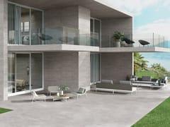 Pavimento/rivestimento in gres porcellanato effetto cementoRE-PLAY CONCRETE GREY - PROVENZA BY EMILGROUP