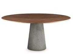 Tavolo rotondo in legno masselloREAL   Tavolo rotondo - OLIVER B.