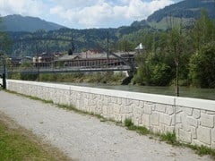 Matrici per opere idrogeologicheRECKLI® | Matrice per parete in calcestruzzo facciavista - COPLAN