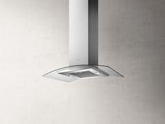 Cappa ad isola in acciaio inox con illuminazione integrataREEF A ISLAND - ELICA