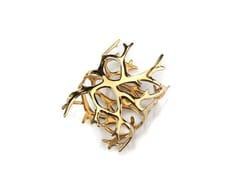 Portatovagliolo in metallo placcato d'oro (2 pz.)REEF 2317.GPB | Portatovagliolo - ZIEHER