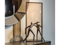 Scultura in bronzo REFLECTIVE MINDS - GARDECO