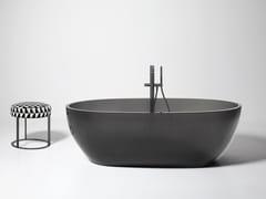 Antonio Lupi Design, REFLEX Vasca da bagno centro stanza ovale in Cristalmood®
