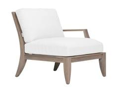 Modulo destro/sinistro in teak per divano componibileRELAIS MODULO SINISTRA / DESTRA - JANUS ET CIE