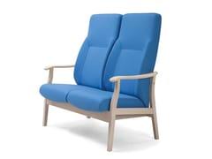 Divanetto in tessuto con schienale altoRELAX CLASSIC | HEALTH & CARE | Divanetto con schienale alto - PIAVAL