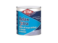 Smalto all'acqua brillante ad elevate prestazioni RELAX EXTRA BRILLANTE - ATTIVA