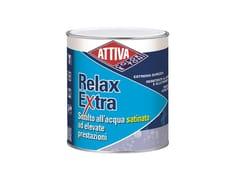 Smalto all'acqua satinato ad elevate prestazioniRELAX EXTRA SATINATO - ATTIVA