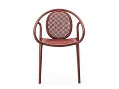 Sedia impilabile in polipropilene con braccioliREMIND 3735 - PEDRALI