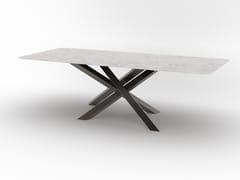 Tavolo rettangolare in metalloRENDON - F.LLI PIERMARIA