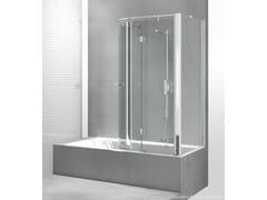 Parete per vasca in vetro temperato REPLAY SR+SE - Replay