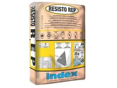 INDEX, RESISTO REP Malta tixotropica strutturale ad alta lavorabilità per cls