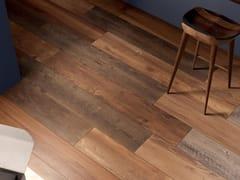 Pavimento/rivestimento in gres porcellanato effetto legnoRESTYLE RED - CERAMICHE MARCA CORONA