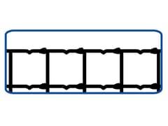 Rete annodata zincata a maglie differenziateRETE PER PECORE   EXTRA PESANTE - METALLURGICA IRPINA