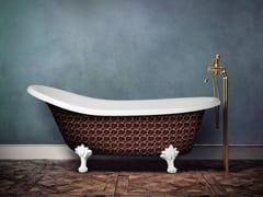 Vasca da bagno centro stanza ovale su piediRETRO HERITAGE - AQUADESIGN STUDIO