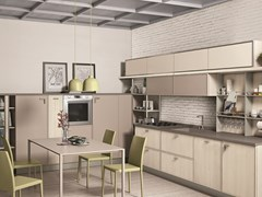 Cucina in frassino con maniglie REWIND | Cucina - CREO KITCHENS BY LUBE