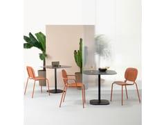Tavolo quadrato per contractRHINO - S•CAB