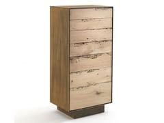 Cassettiera in ferro e legno RIALTO 2013 | Cassettiera - Rialto