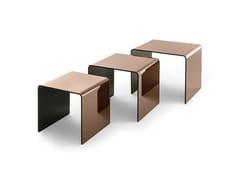 Set di tre tavolini in vetroRIALTO TRIS - FIAM ITALIA