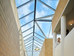 Velux Commercial, DUAL PITCHED SOLUTIONS Finestra da tetto in acciaio e vetro